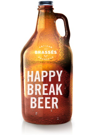 happy break beer